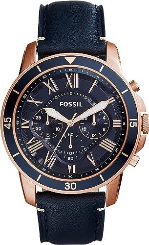 Fossil Analog Blue Men Watch FS5237