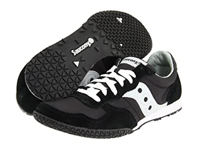 Saucony Originals Bullet (Black/Silver) Men