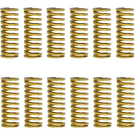 Longueur 25mm OD 8mm ID 4mm ZENUTA Lot de 10 Ressorts de Compression Charge /à vis M3 pour Creality CR-10 imprimante 3D