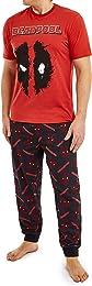 Deadpool Pyjama Homme - Ensemble Pijama 2 Pièces a