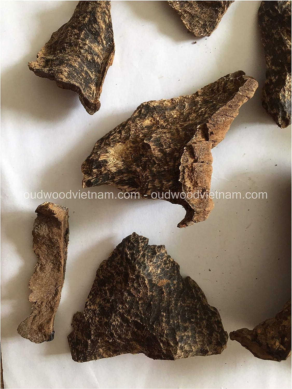 20g-50g Genuine Natural Vietnamese Nha Trang oud chips agarwood incense