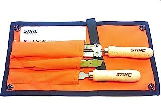 Stihl 5605 007 1029 skärpset filset för 9,5 mm sågkedja (3/8 tum), 1 V, flerfärgad