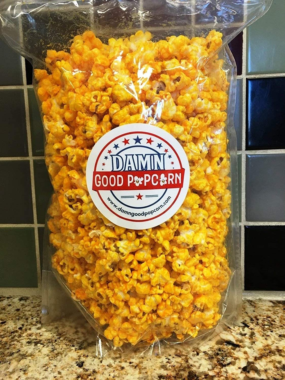 Damn Good Popcorn's Gourmet Cheddar gift 7 Popcorn Quantity limited oz Cheesy Bag
