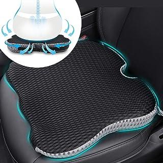 CarQiWireless Car Cushion, Wedge Cushion Seat Pad, Soft Cotton Breathable Mesh Cushion in Home, Car, Office ect. Black