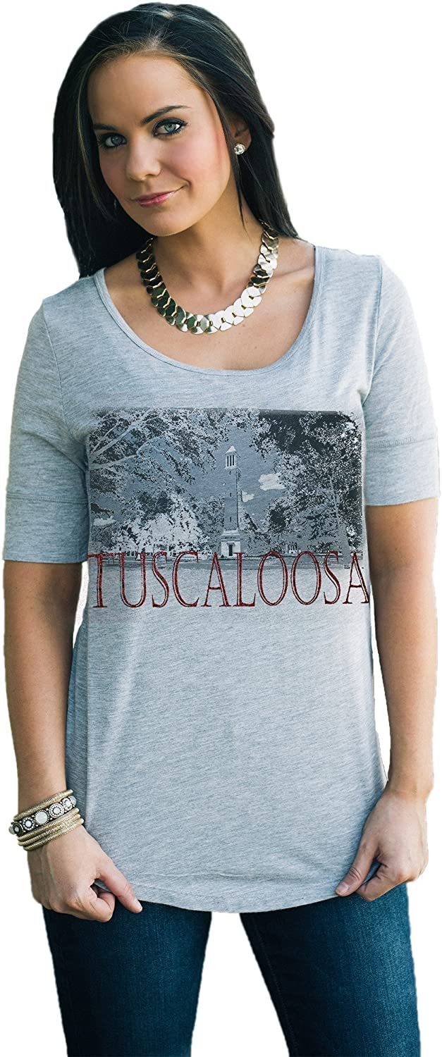 Alabama Half Sleeve Grey TEE