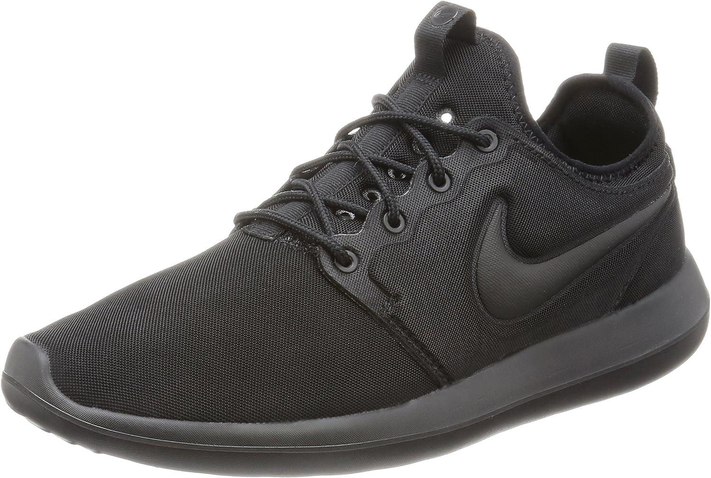 Nike Herren Nike Roshe Two Schuh, schwarz  | Räumungsverkauf