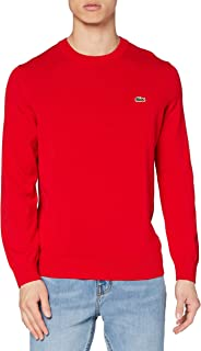Lacoste AH1985 Sweater, Rouge, 4XL Homme