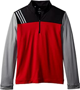 adidas Golf Kids 3-Stripe Layering Jacket (Big Kids)