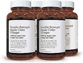 Double Strength Apple Cider Vinegar 1000mg x 720 Tablets 4 Bottles of 180 Tablets – 2 Years Supply SKU AV3x4 Estimated Price : £ 67,99