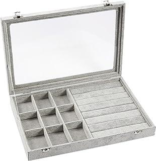 Amazoncom Grey Jewelry Boxes Jewelry Boxes Organizers
