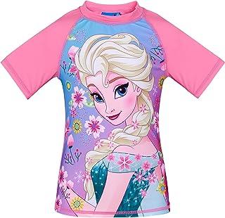 Disney Elsa & Anna Mädchen Swim Shirt - Türkis