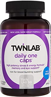 Sponsored Ad - Twinlab Daily One with Iron 180 Capsules