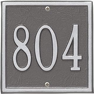 Best cast metal address plaques Reviews