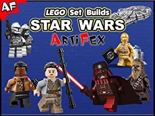 Clip: Lego Set Builds Star Wars - Artifex