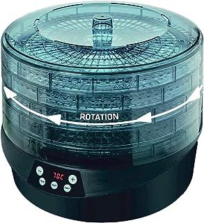 Maxxo RotoDry+ Déshydrateur alimentaire rotatif, Machine électrique déshydrateur, 5 Plateaux, 500W, Système de rotation - ...