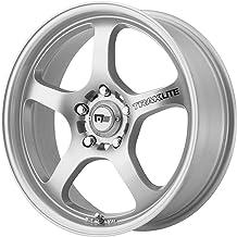 "Motegi Racing MR131 Traklite Silver Wheel (18x8""/5x100mm, +45mm offset)"