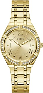 GUESS Womens Quartz Watch, Analog Display And Stainless Steel Strap - GW0033L2