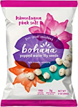 Bohana Pink Himalayan Salt, 6 Pack | As Seen On Shark Tank | Gluten-Free High-Protein All Natural Super Snack | Free Spirit Snacking: Non-GMO Verified, Light, Crunchy, Satisfying (2oz Bags, 6-Pack)