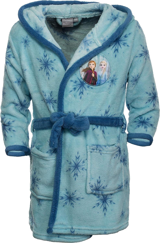Accappatoio con cappuccio per bambini con motivi in stile Frozen 2 Brandsseller
