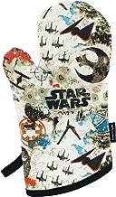 Star Wars Oven Mitt Blue and White - Heat Resistant - 100% Cotton- 1 Oven Mitt