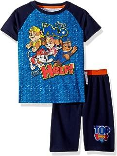 Nickelodeon Boys Paw Patrol Crew Neck Short Set Short Sleeve T-Shirt Set