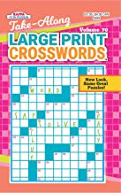 Take Along Large Print Crosswords Puzzle Book - Volume 70