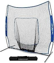 PowerNet Team Color Baseball Softball 7x7 Hitting Net w/Bow Frame