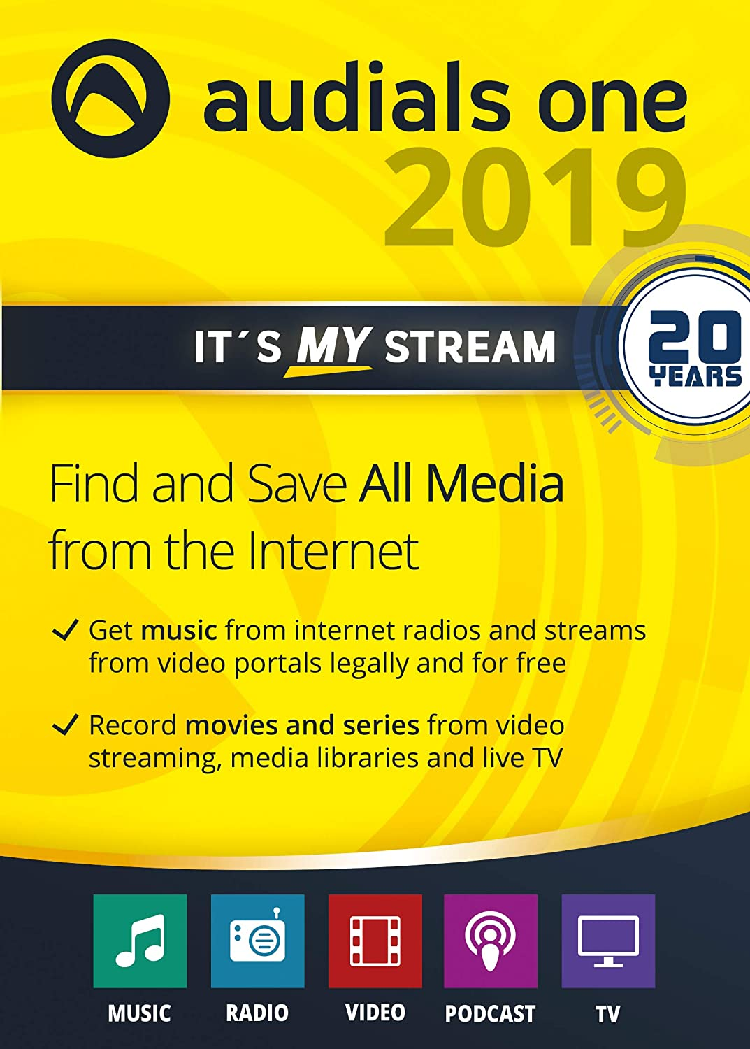 Audials shipfree One 2019 Ranking TOP20 PC Download