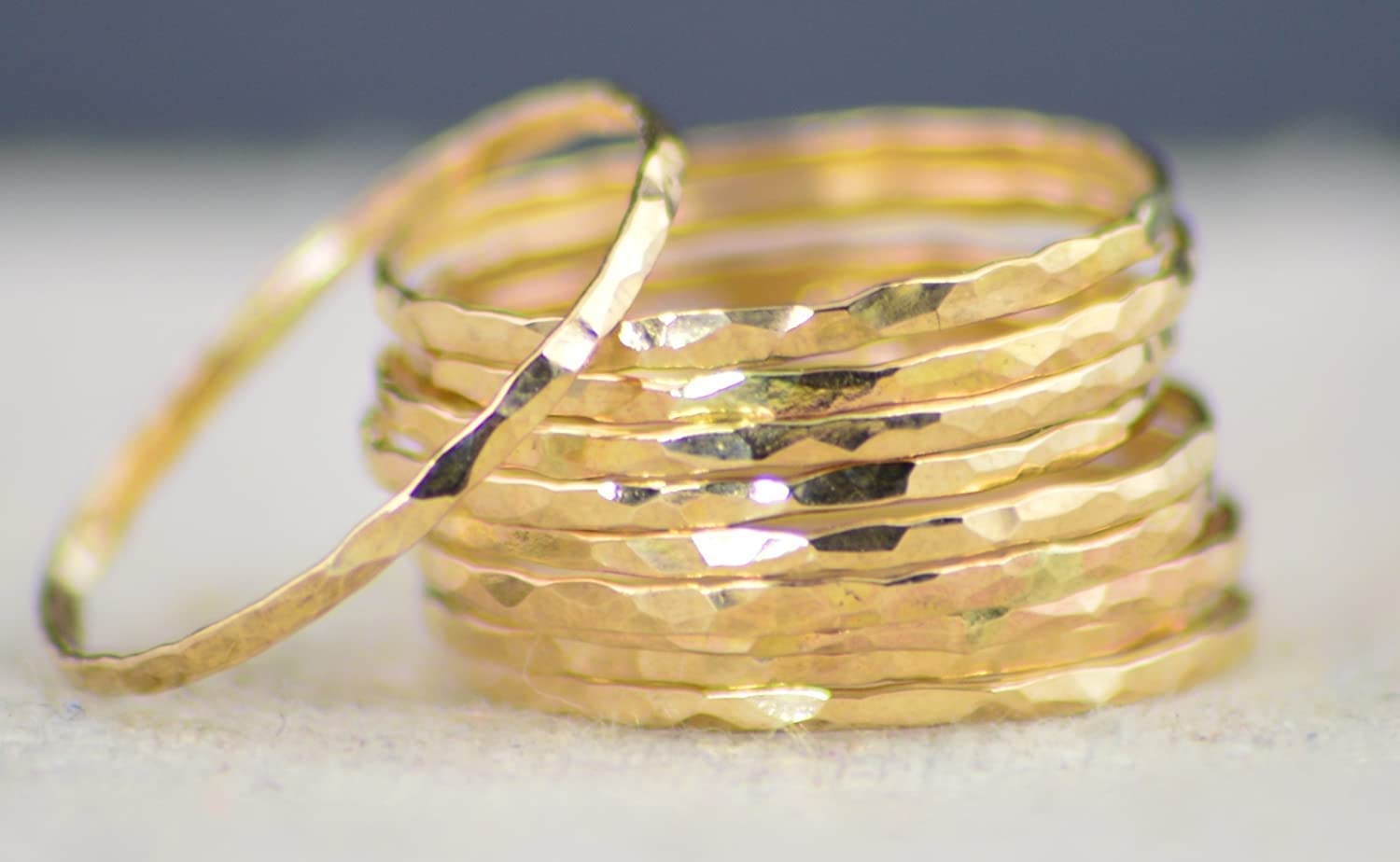 Super Thin 14k Gold Filled per sold ring Cheap SALE Start Stackable Rings Limited Special Price