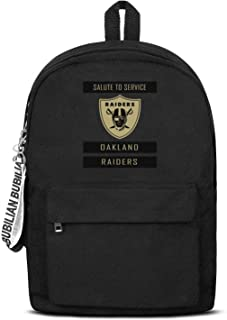 16.5 Inch Mens Women Black Backpack Large Capacity Canvas Bag Student Backpacks Youth Girls