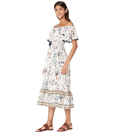 f888001f6951e Tory Burch Swimwear Meadow Folly Dress Cover-Up at Luxury.Zappos.com