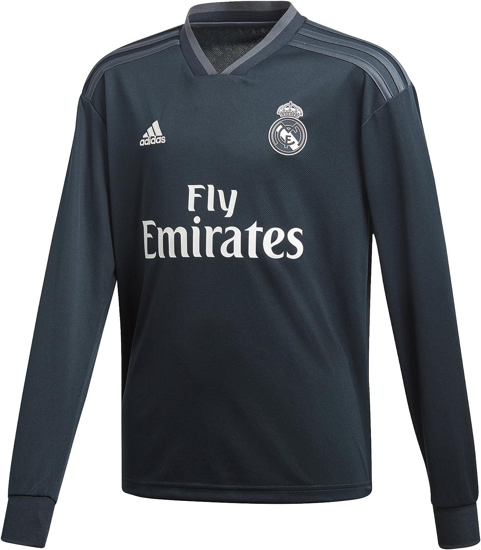 Buy adidas 2018-2019 Real Madrid Away Long Sleeve Football Soccer ...