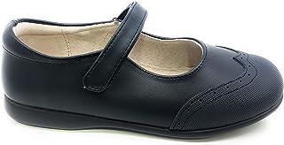 Bubble Bobble Chaussures Collegial Mercedita Velcro Embout Filles