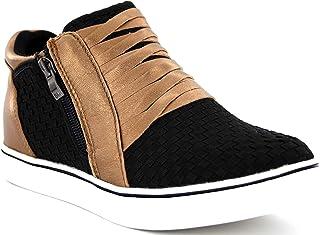 B M BERNIE MEV NEW YORK Slope Ingrid Women's Boots - Botin Casual con pequña cuña, Cierre con Cremallera con Planta de Mem...