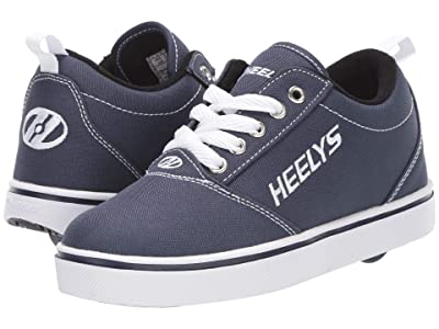 Heelys Pro 20 (Little Kid/Big Kid/Adult) (Navy/White) Kid