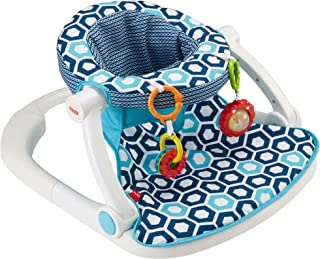 Fisher-Price Sit-Me-Up - Asiento para suelo, Geo azul, Azul