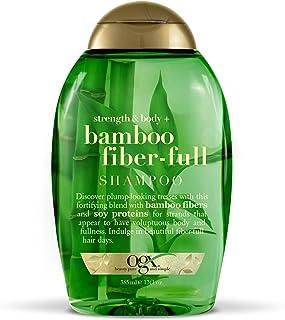 OGX Strength & Body + Bamboo Fiber-Full Shampoo, 13 Ounce