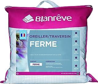 Blanrêve - Lot de 2 Oreillers - Confort Ferme - Esthétique - 60x60 cm , Blanc
