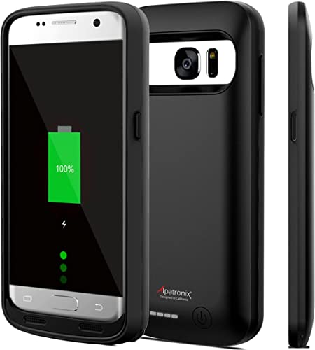Galaxy S7 Battery Case, 4500mAh Slim Portable Protective Extended Charging Cover Rechargeable External Backup Charger...