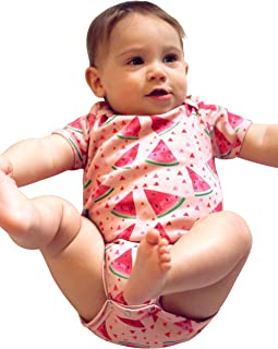 Dusty Road Apparel Watermelon Onesie | Organic Cotton Onesie | Watermelon Clothing for Baby | Australian Made Gifts