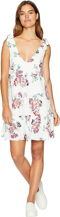 Pretty Petals Drop Waist Dress
