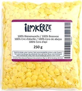 100% Reine Bienenwachs Pastillen, gelb, 250 g, für Kerzen