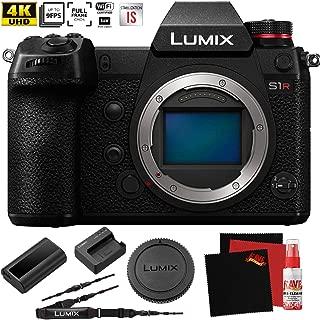 Panasonic Lumix DC-S1R Mirrorless Digital Camera (Body Only) - New - Full Frame 47.3 MegaPixel