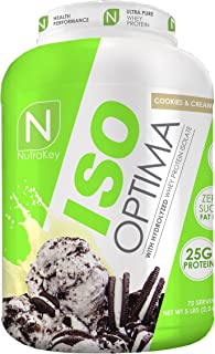 NutraKey ISO Optima Cookie & Cream Protein Supplements, 5 Pound