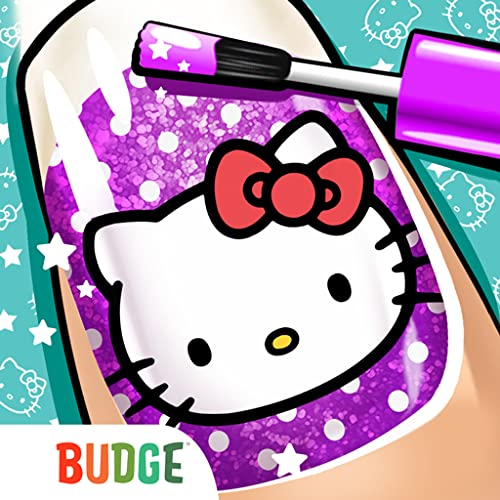 Hello Kitty Nail Salon