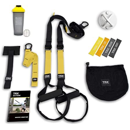 TRX GO Suspension Trainer System (Black): Lightweight ...