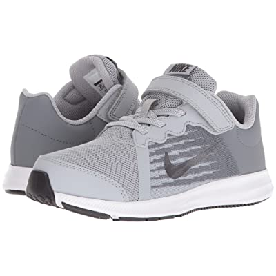 Nike Kids Downshifter 8 (Little Kid) (Wolf Grey/Metallic Dark Grey/Cool Grey/Black) Boys Shoes