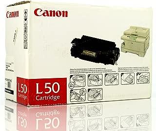 1 X Original Canon L50 (6812A001AA, 6812A001) 5000 Yield Black Toner Cartridge - Retail