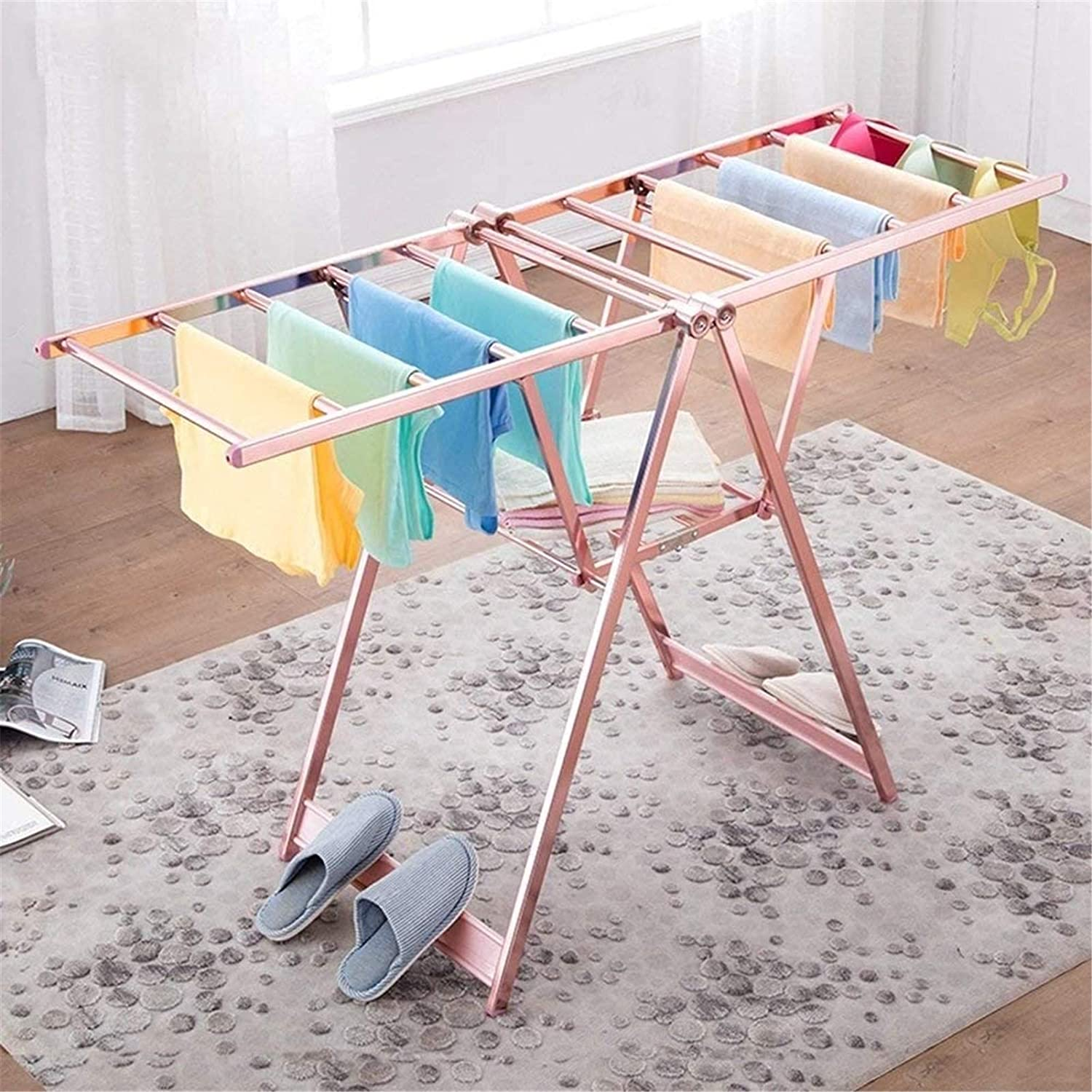 TUHFG Electric Indefinitely Heated Clothes Airer Dryer Sale item Racks A Drying