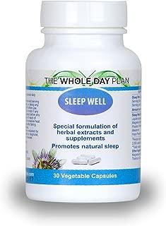 Sleep Well - Promotes Natural Sleep. Take one Capsule Before Bedtime to Have deep refresing Sleep.